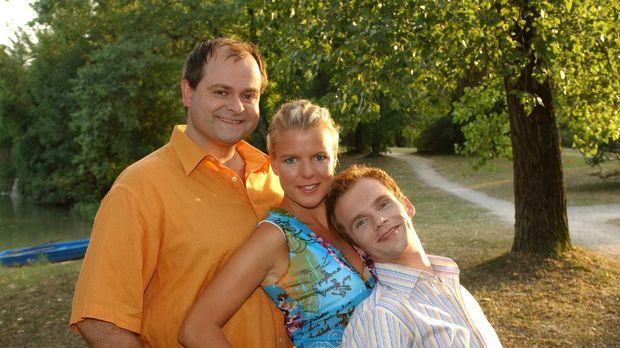 Die dreisten Drei: v.l.n.r. Markus Majowski, Mirja Boes und Ralf Schmitz © St...