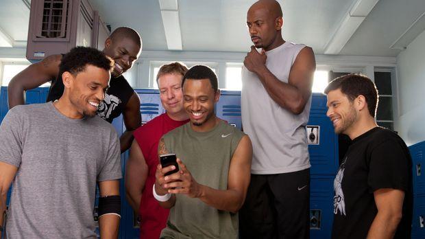 Durchschauen die List der Frauen: (v.l.n.r) Dominic (Michael Ealy), Cedric (K...