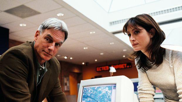 Bei den Ermittlungen stellen Gibbs (Mark Harmon, l.) und Kate (Sasha Alexande...
