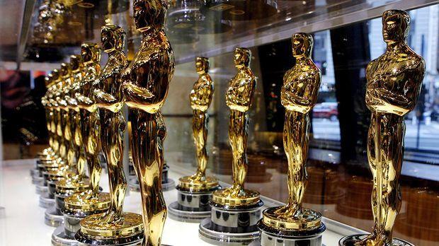 Oscar Statue © usage Germany only, Verwendung nur in Deutschland