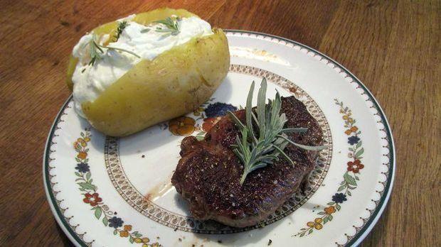 Hirsch-Steak