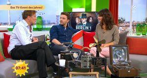 Frühstücksfernsehen - Mit Oliver Masucci Und Friedrich Mücke Am Tatort!