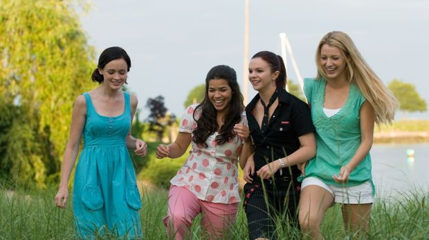 Eine für 4 - unterwegs in Sache Liebe: Lena (Alexis Bledel, l.), Carmen (Amer...