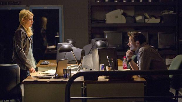 Carrie (Claire Danes, l.) und Quinn (Rupert Friend, r.) machen sich auf die S...