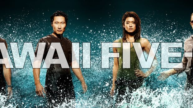 (1. Staffel) - Hawaii Five-0: Steve McGarrett (Alex O'Loughlin, l.), Danny Wi...