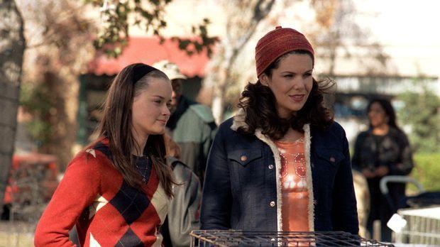Eigentlich ist Lorelei (Lauren Graham, r.) überglücklich mit Max, doch als Ro...
