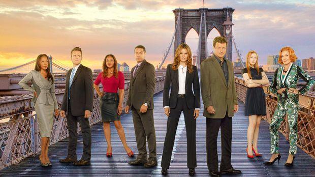 (6. Staffel) - Viele spannende Fälle warten auf (v.l.n.r.) Victoria Gates (Pe...