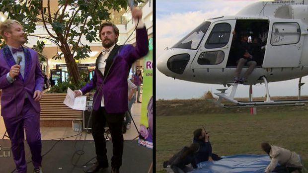 Longest Day - Ross Antony vs Helikopter