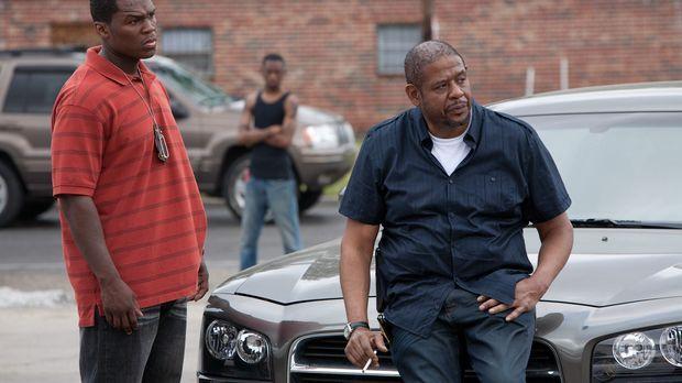 Malo (50 Cent, l.) wird der neue Partner des erfahrenen Cop LaRue (Forest Whi...