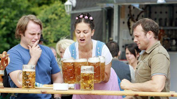 Was gibt es Schöneres, als bei strahlendem Sonnenschein im Biergarten zu ents...