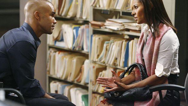 Morgan (Shemar Moore, l.), der ein emotionales Verhältnis zur Schwester (Sall...