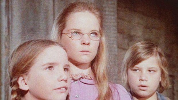 Laura (Melissa Gilbert, l.), Mary (Melissa Sue Anderson, M.) und Carl (Brian...