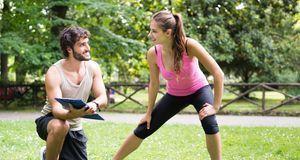 Zu einem ausgeklügelten Trainingsplan gehört auch das Stretching. Nach jedem...