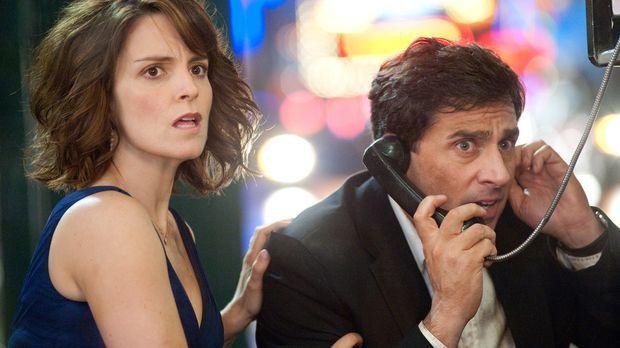 Date Night - Gangster für eine Nacht - Claire (Tina Fey, l.) und Phil Foster...