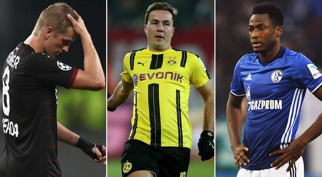Langzeitverletzt! Für diese Stars ist die Bundesliga-Saison vorzeitig zu Ende...