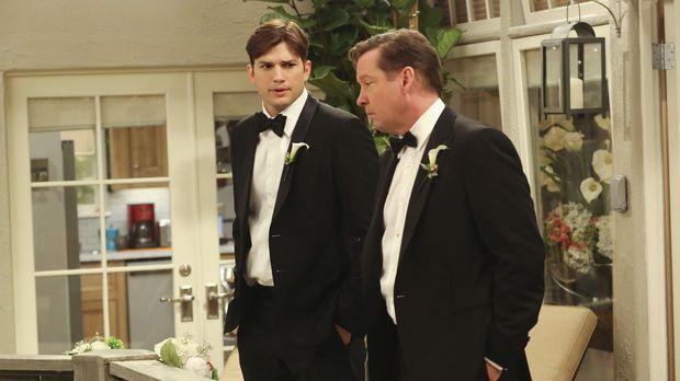 Ausgerechnet am Tag der Hochzeit von Alan und Gretchen meint Walden (Ashton K...