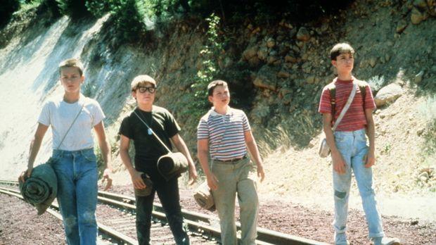 Heimlich auf der Suche nach der Leiche eines Jungen: Die vier Freunde Gordie...