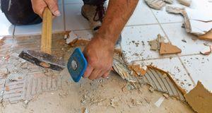 Wenn nichts mehr hilft und Sie ohnehin renovieren wollten, entfernen Sie Ihre...