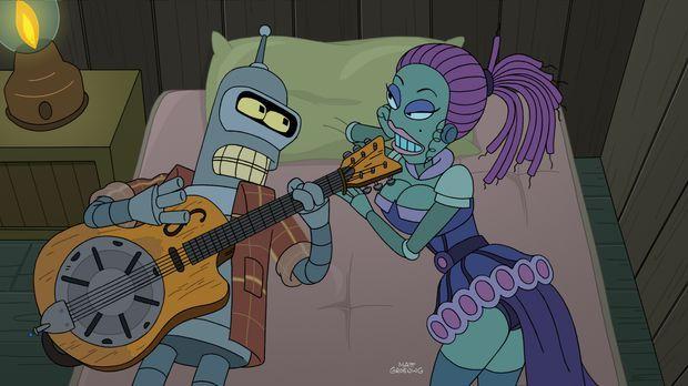 Schon immer wollte Bender (l.) ein Folk-Star werden. Jetzt scheint der Traum...