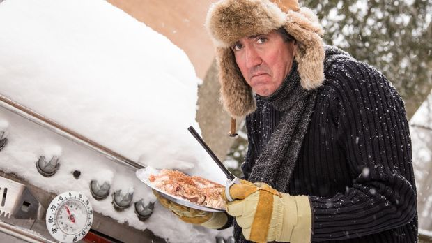Miserable winter barbequer