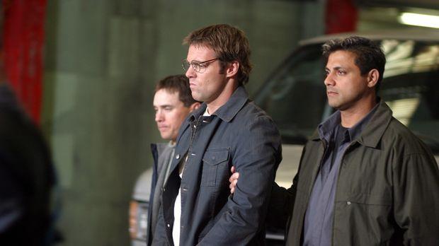 Plötzlich müssen sich Daniel (Michael Shanks, M.) und das SG-1 Team mit ganz...