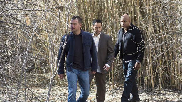 Callen (Chris O'Donnell, l.) und Sam (LL Cool J, r.) werden in eine Falle gel...