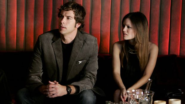 Schweben auf Wolke Sieben: Chuck (Zachary Levi, r.) und Lou (Rachel Bilson, l...