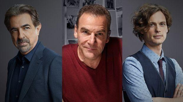Criminal Minds: Rossi, Gideon, Reed