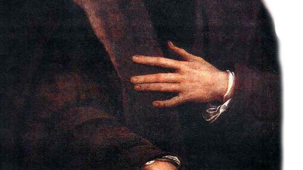 Ein Portrait von Christopher Kolumbus des italienischen Malers Sebastiano del...