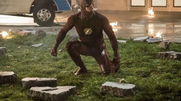 The Flash - Während Barry alias The Flash (Grant Gustin) mit seinen Superheld...
