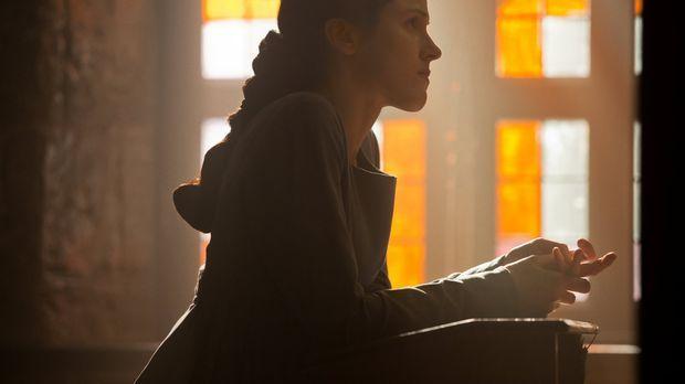 Margaret Beaufort (Amanda Hale) betet weiter um den Anspruch ihres Sohnes auf...