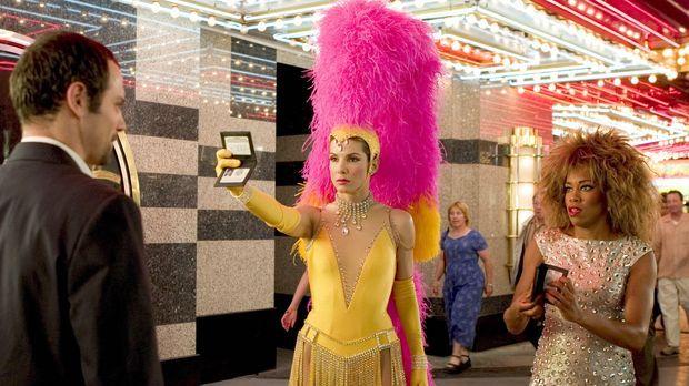 Miss Undercover 2 - FBI-Agentin Gracie Hart (Sandra Bullock, l.) und Sam Full...