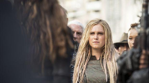 Erkennt Clarke (Eliza Taylor) zu spät wer hinter dem weitreichenden Plan steh...