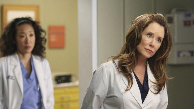 Cristina (Sandra Oh, l.) soll den ganzen Tag mit Dr. Virginia Dixon (Mary McD...