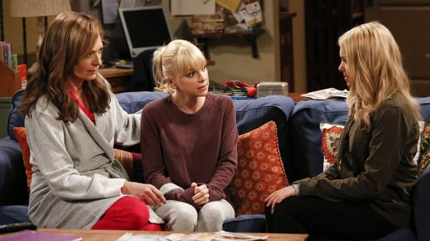 Nach Violets (Sadie Calvano, r.) Geständnis müssen Bonnie (Allison Janney, l....