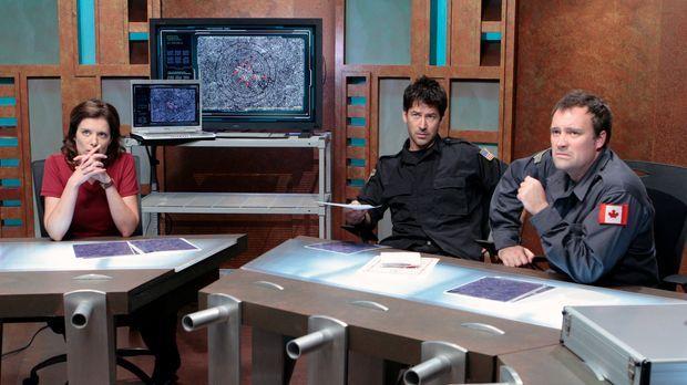 Um Atlantis vor der endgültigen Zerstörung zu retten, müssen Dr. Weir (Torri...