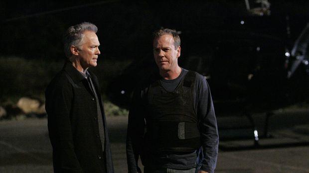 Bill Buchanan (James Morrison, l.) gelingt das Unmögliche: Er beschlagnahmt e...