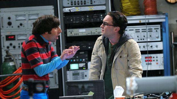 Geraten wegen Bernadette aneinander: Howard (Simon Helberg, l.) und Leonard (...