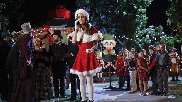 Gerade an Weihnachten merkt Zoe (Rachel Bilson, M.) wie groß ihr Liebeskummer...