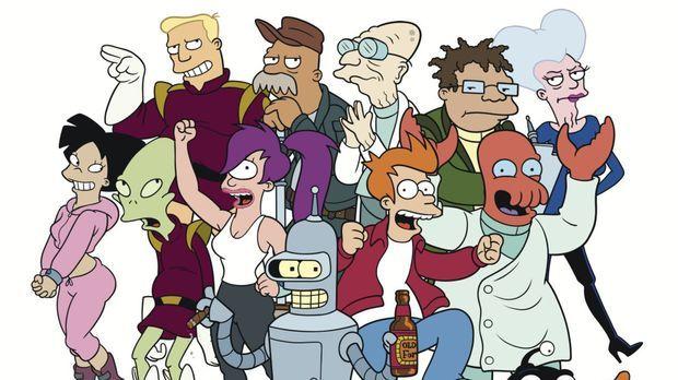 (9. Staffel) - Futurama - New York und die Welt im Jahr 3000 ... © 2010 Twent...