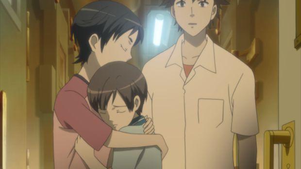 Nach dem Tod ihres Vaters verbringen Say (l.), Riku (M.) und Kai (r.) ihre Ze...