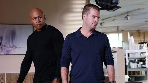 Ermitteln in einem neuen Fall: Sam (LL Cool J, l.) und Callen (Chris O'Donnel...