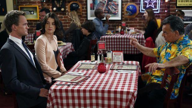 Als Robin (Cobie Smulders, M.) mitbekommt, dass Barney (Neil Patrick Harris,...