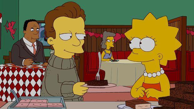 Lisa (r.) lernt einen jungen Autor namens Nick (l.) kennen, der ihrer Meinung...