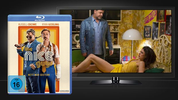 The Nice Guys - Blu-ray und Szene © Concorde Home Entertainment