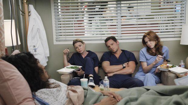 Rückblende: Nach dem schrecklichen Flugzeugabsturz machen sich Meredith (Elle...