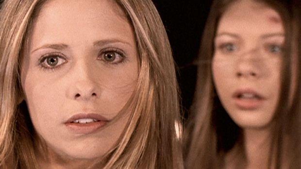 Um den Weltuntergang zu verhindern, will Dawn (Michelle Trachtenberg, r.) vom...